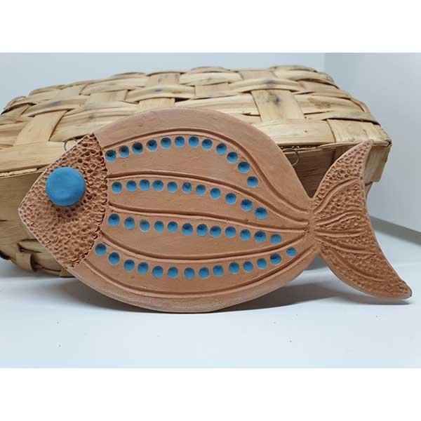 pesciolino in ceramica