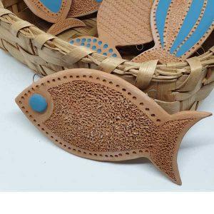 pesciolino arte di blue
