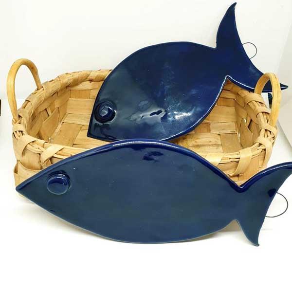 pesciolino in ceramica artediblue